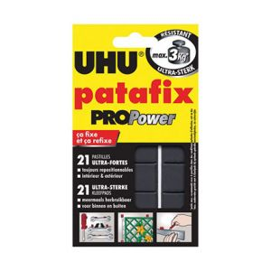 BLISTER 21 PASTILLES PATE A FIXER UHU