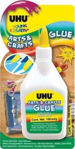 BLISTER 1 COLLE BLANCHE 100G UHU ARTS&