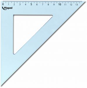 EQUERRE HYPOTENUSE 21CM 45D MAPED