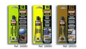 BLISTER 1 COLLE 30ML TISSUS NO19