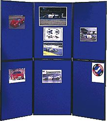 STAND EXPOSITION 180X180CM SHOWBOARD