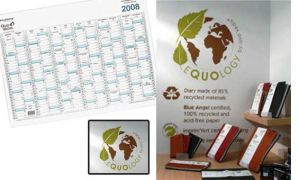 CALENDRIER 14 MOIS EQUOLOGY 67X43