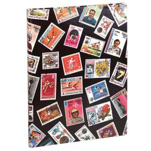 ALBUM TIMBRES 16 PAGES SPORT