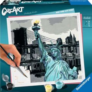 PEINTURE NUMEROS CREART CARRE NEW YORK