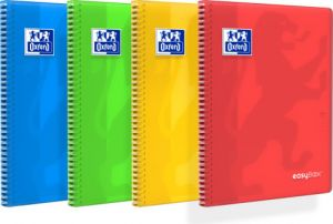 CAHIER SPIRALE A4 160P EASYBOOK SEYES