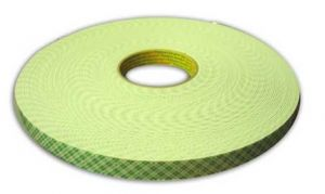 ADHESIF DOUBLE FACE 19MMX33M MOUSSE