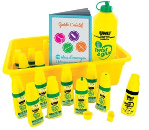 PACK SCOLAIRE FLACONS COLLE TWIST&GLUE