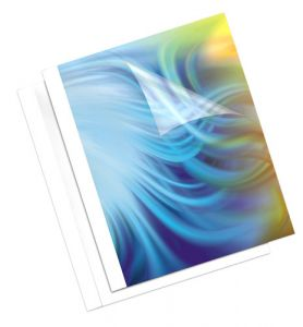 COUVERTURE PRE ENCOLLEE 6MM FELLOWES