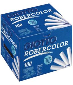 BOITE 100 CRAIES BLANCHES ROBERCOLOR