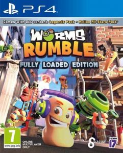 JEU SONY PS4 WORMS RUMBLE + 7ANS