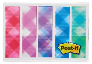 BLISTER 5X20 MARQUE PAGES POST IT VICHY