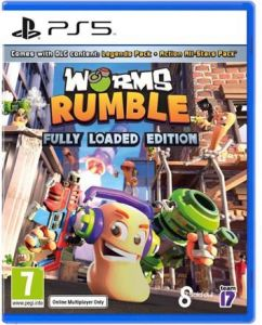 JEU SONY PS5 WORMS RUMBLE +7 ANS