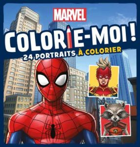 COLORIE-MOI MARVEL