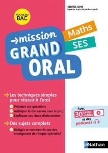 MISSION GRAND ORAL MATHS SES
