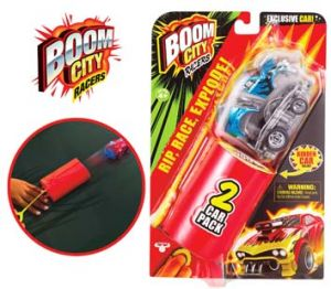 PACK 2 VOITURES BOOM CITY RACERS
