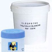 COLLE 1KG PATE BLANCHE