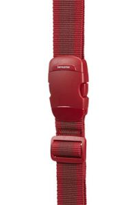 SANGLE A BAGAGE 38MM ROUGE