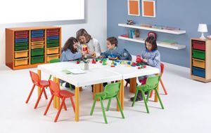 PACK MOBILIER SCOLAIRE ERGOS 1 TABLE +