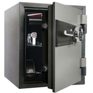 COFFRE FORT IGNIFUGE 48L VERROU ELECTRON