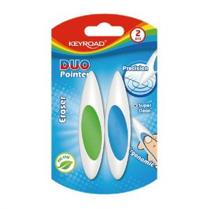 BLISTER 2 GOMMES KEYROAD DUO POINTER