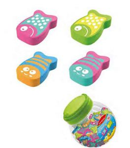 GOMME KEYROAD FUNNY FISH ASSORTIES