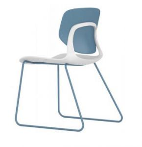 CHAISE VISITEUR MELODY 01 COQUE POLYPRO