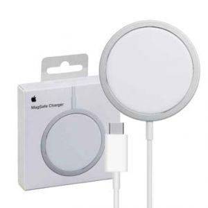 CHARGEUR INDUCTION QI MAGSAFE 15W BLANC