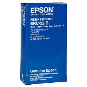RUBAN IMPRIMANTE EPSON ERC32 NOIR