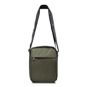 SACOCHE HOMME 19*24*7 ARMY NOW TEXTILE