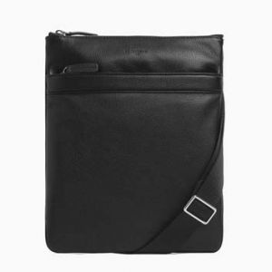 SACOCHE PLATE ZIP HOMME 25*30 CHARLES