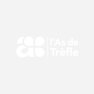 ETIQUETTE A4 X 80 BADGES BLANCS 200G
